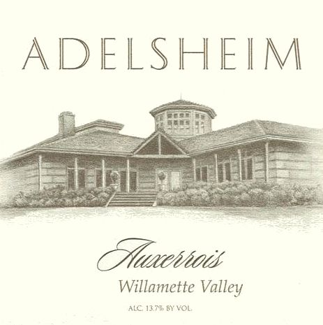 Adelsheim Springs Vineyard Auxerrois 2006  Front Label