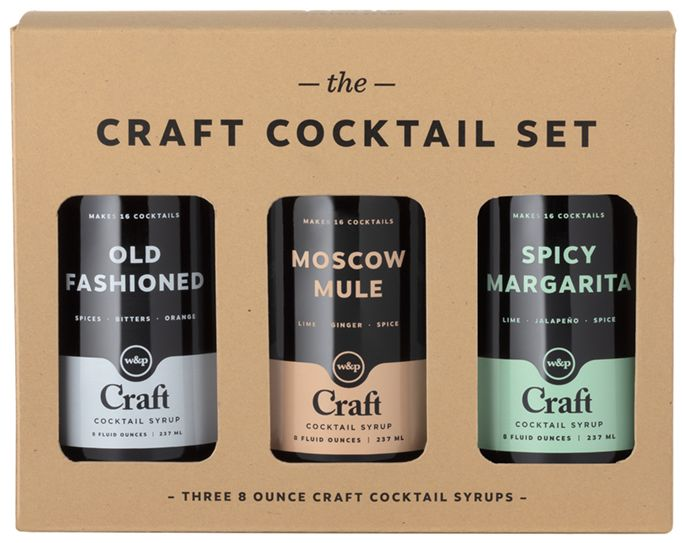 wine.com Craft Cocktail Syrup 3-Pack Set  Gift Product Image