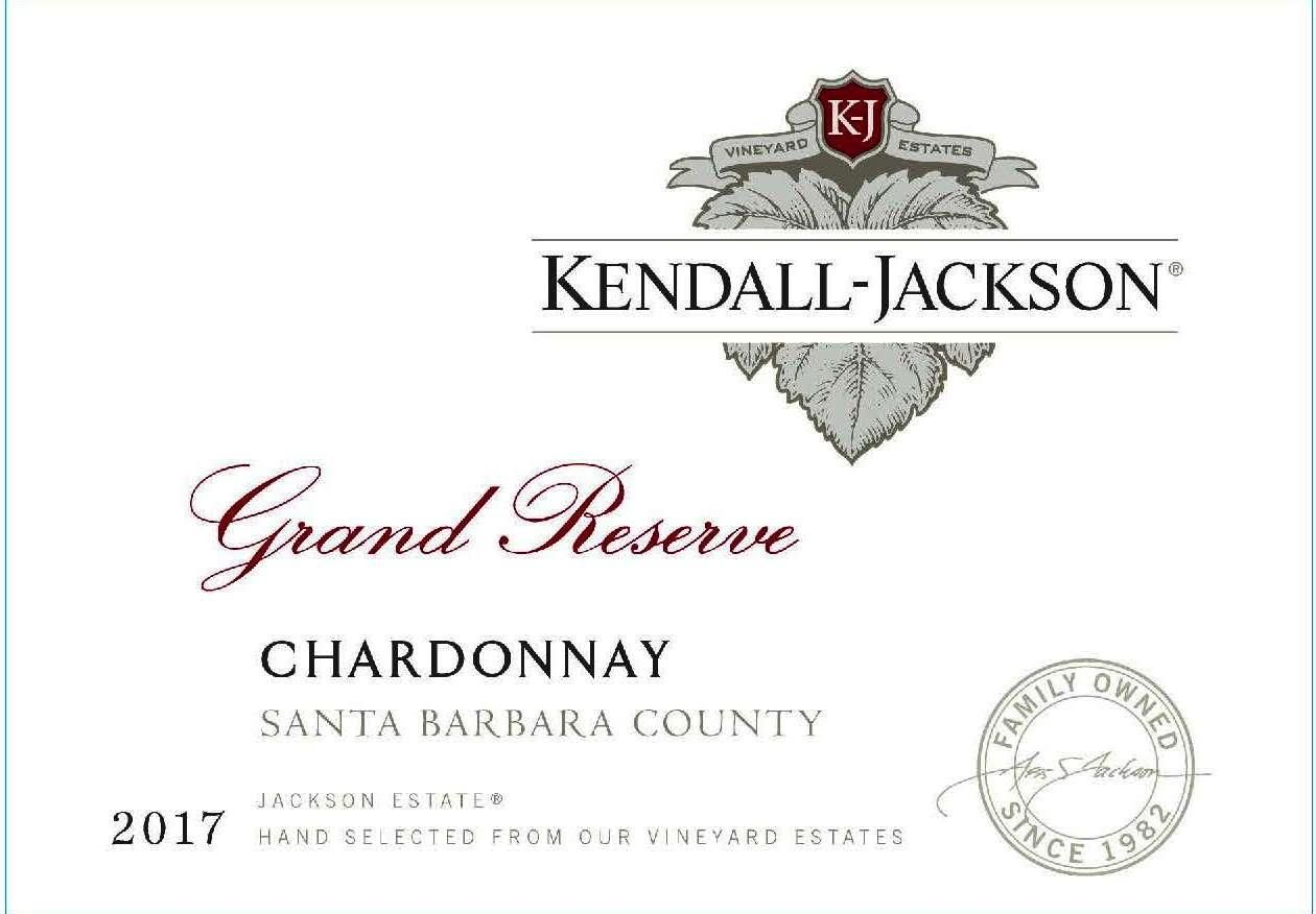 Kendall-Jackson Grand Reserve Chardonnay 2017 Front Label