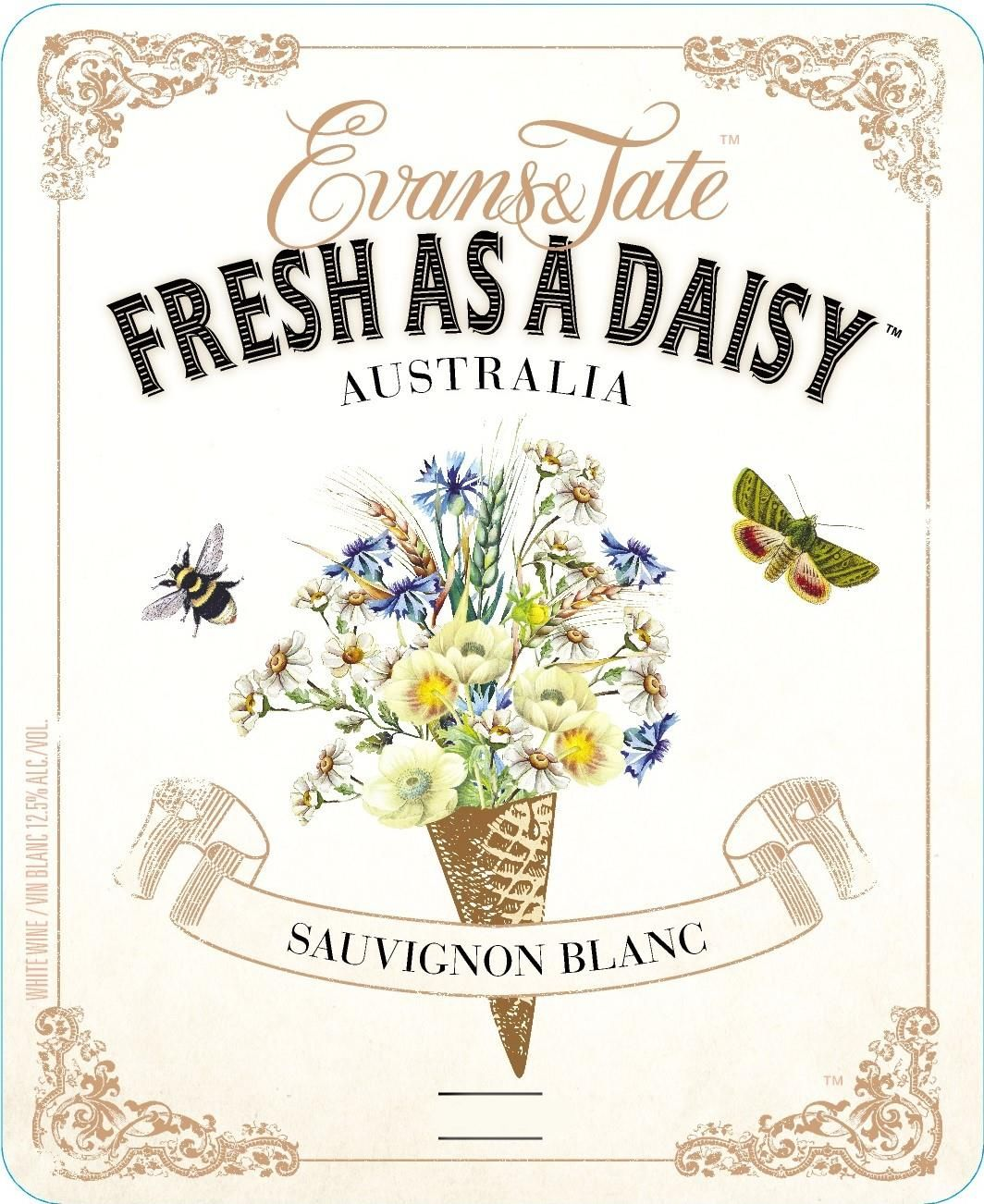 Evans & Tate Fresh as a Daisy Sauvignon Blanc 2017 Front Label