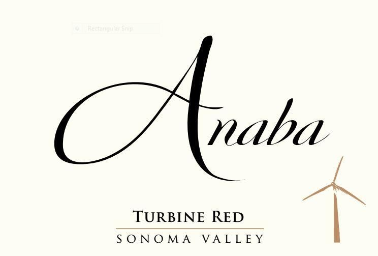 Anaba Turbine Red 2015 Front Label