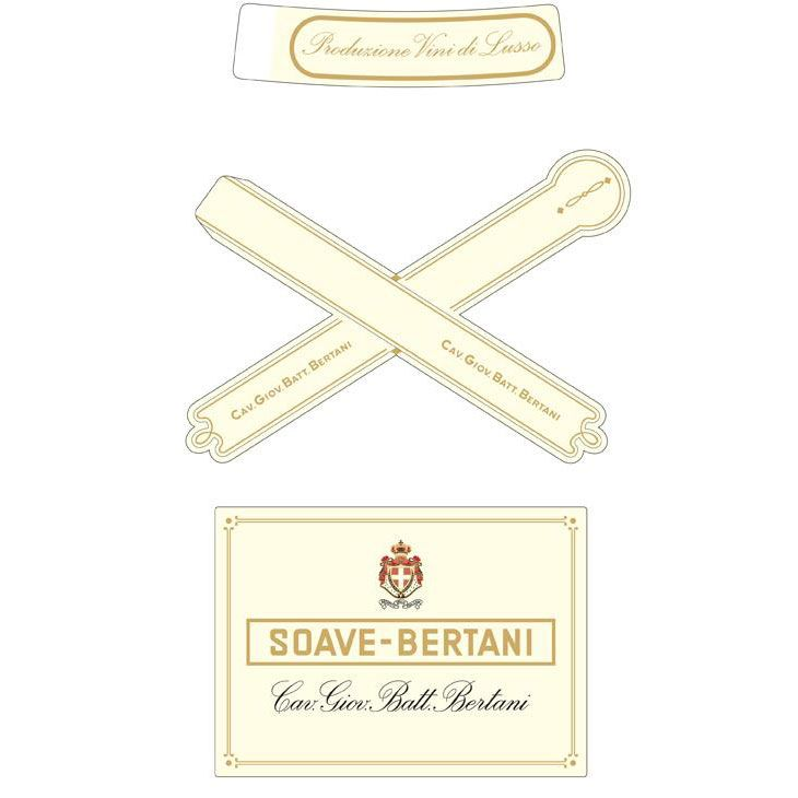 Bertani Vintage Edition Soave 2015  Front Label