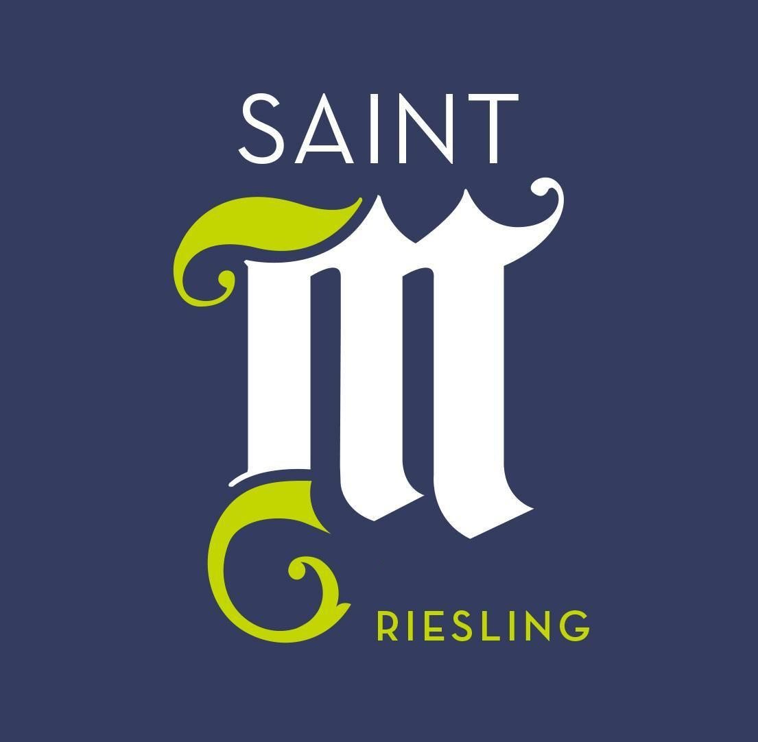 Saint M Riesling 2017 Front Label
