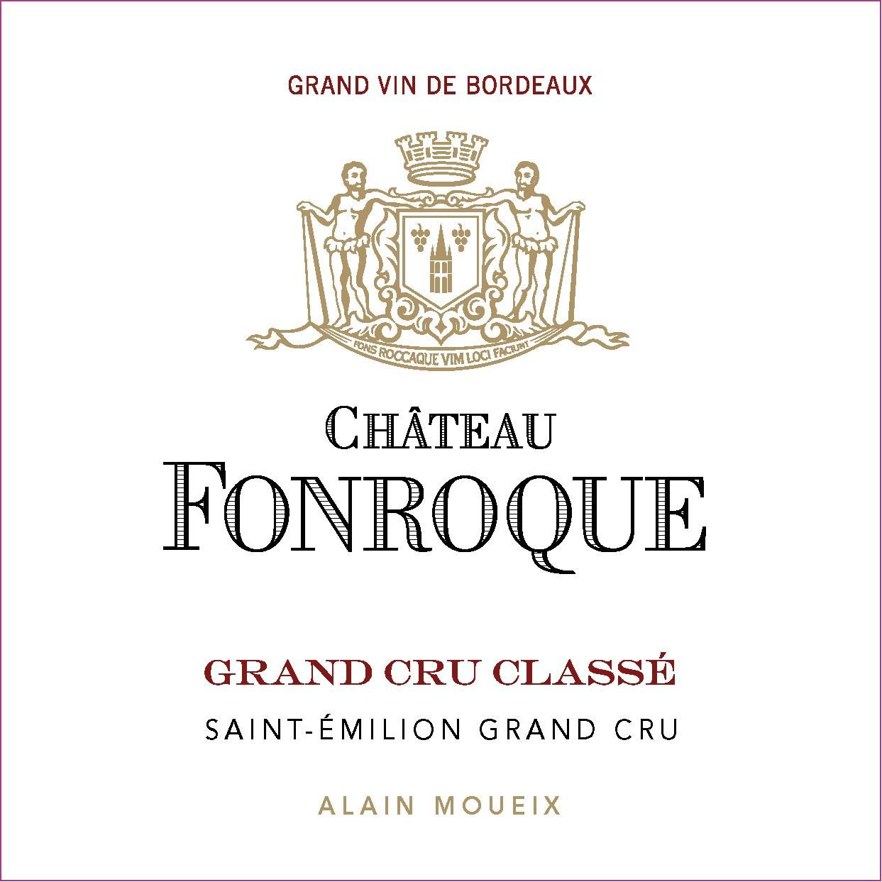 Chateau Fonroque (Futures Pre-Sale) 2019  Front Label