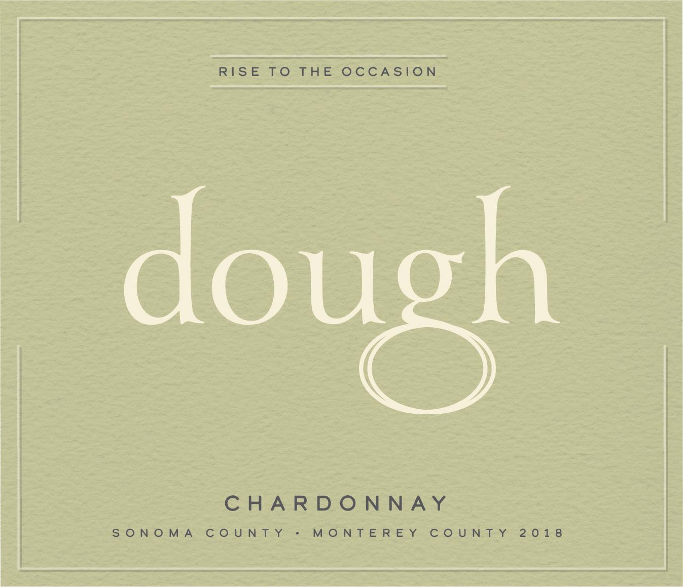 dough Chardonnay 2018  Front Label