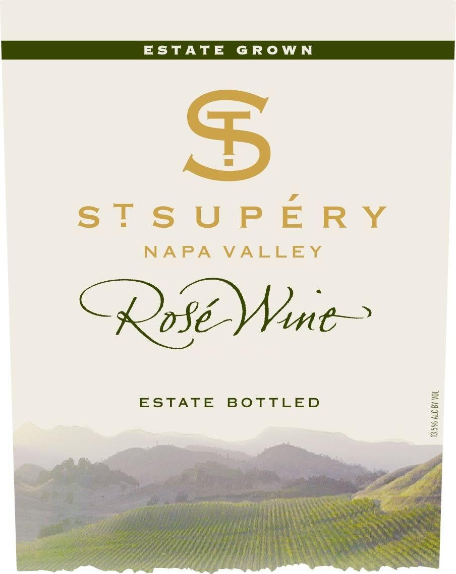 St. Supery Rose 2018 Front Label