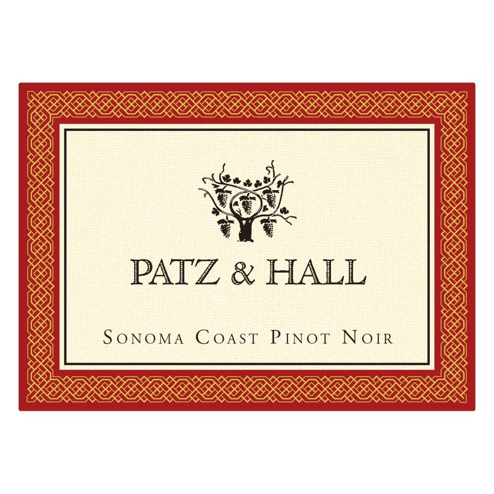 Patz & Hall Sonoma Coast Pinot Noir (375ML half-bottle) 2016  Front Label