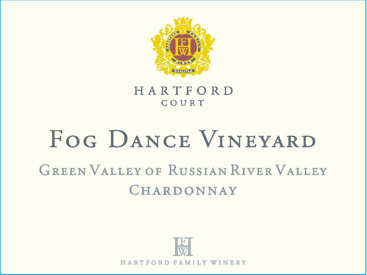 Hartford Court Fog Dance Vineyard Chardonnay 2016  Front Label