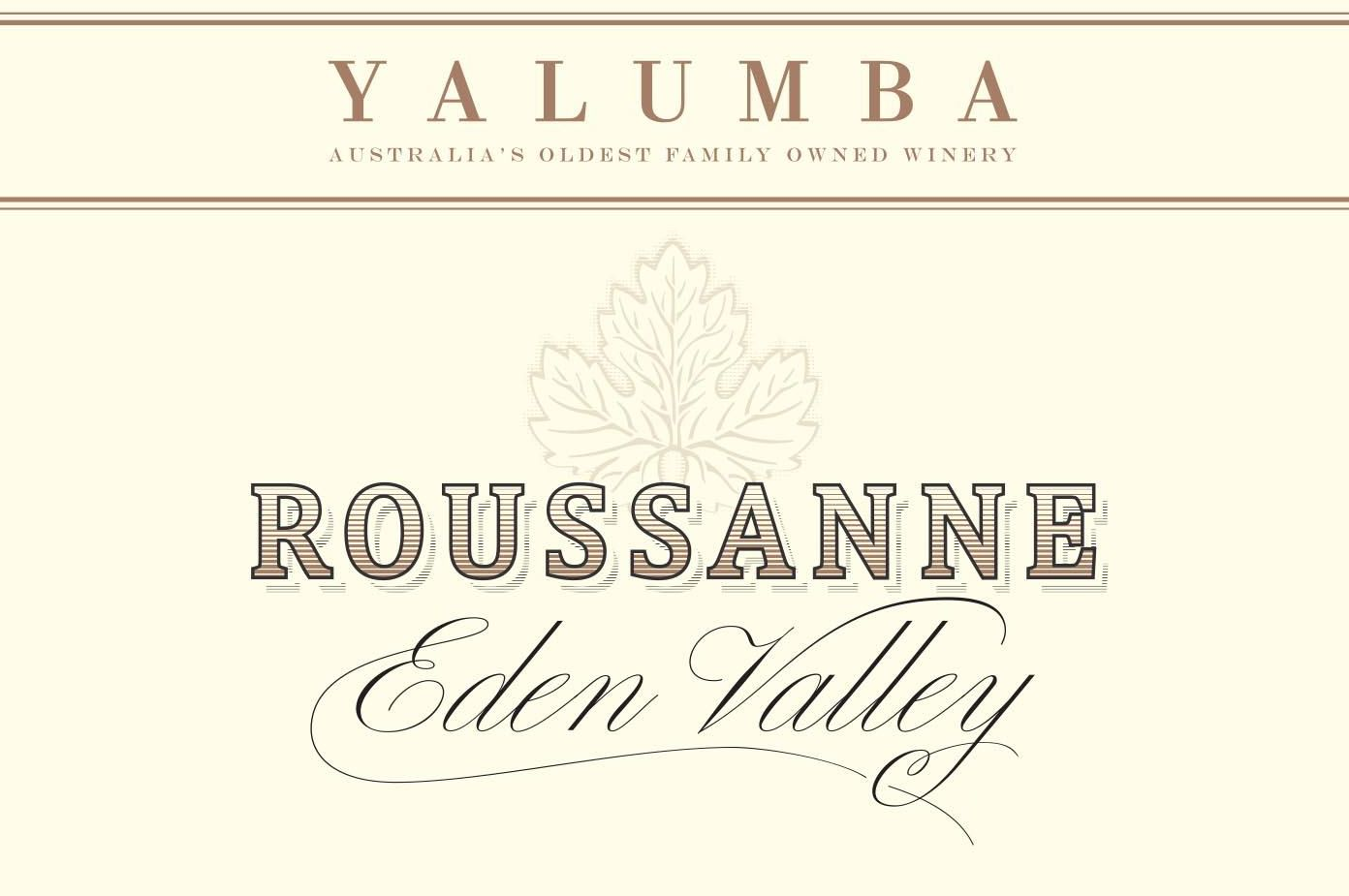 Yalumba Roussanne 2015 Front Label