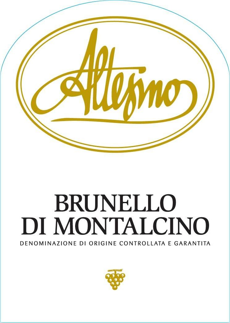 Altesino Brunello di Montalcino 2016  Front Label
