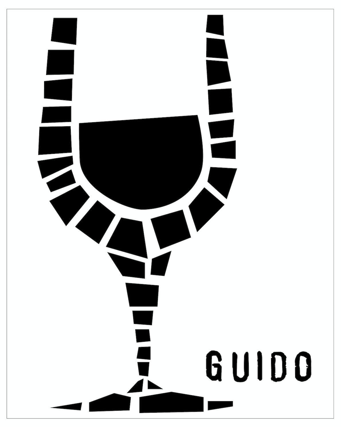 K Vintners Guido Sangiovese 2016  Front Label