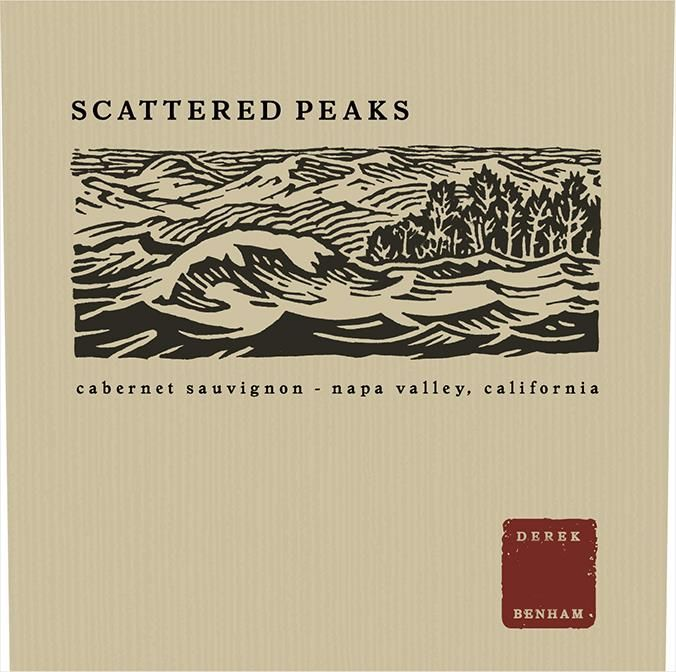 Scattered Peaks Cabernet Sauvignon 2016 Front Label