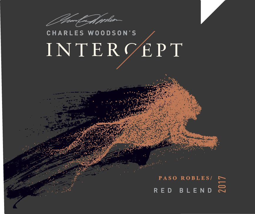 Charles Woodson's Intercept Red Blend 2017  Front Label