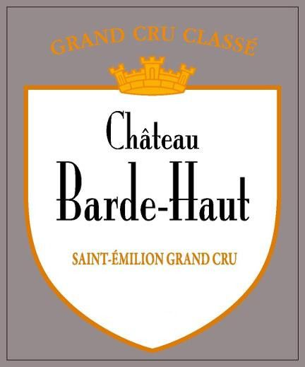 Chateau Barde Haut (Futures Pre-Sale) 2018  Front Label