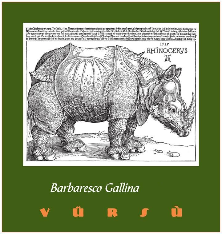 La Spinetta Barbaresco Gallina 2015  Front Label