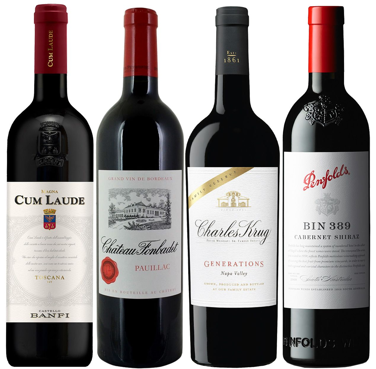 wine.com Kevin Zraly Advanced Tasting of Global Red Blends  Gift Product Image