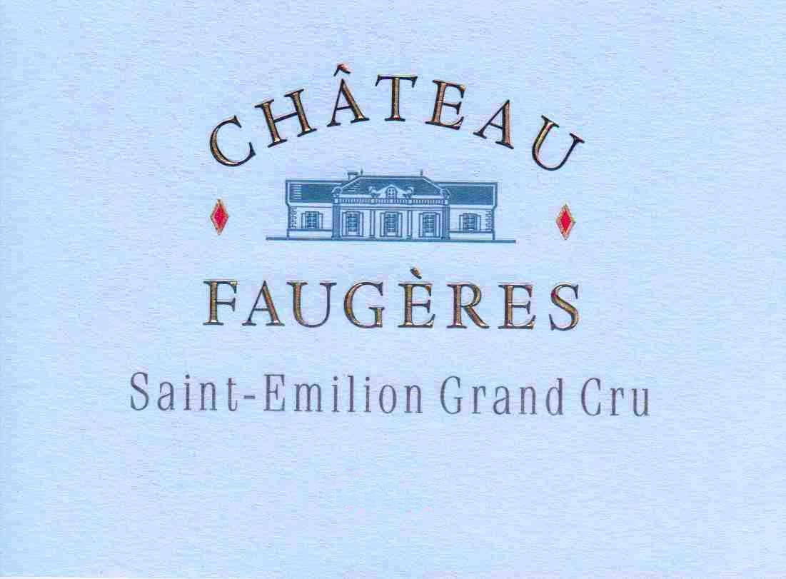 Chateau Faugeres (Futures Pre-Sale) 2019  Front Label