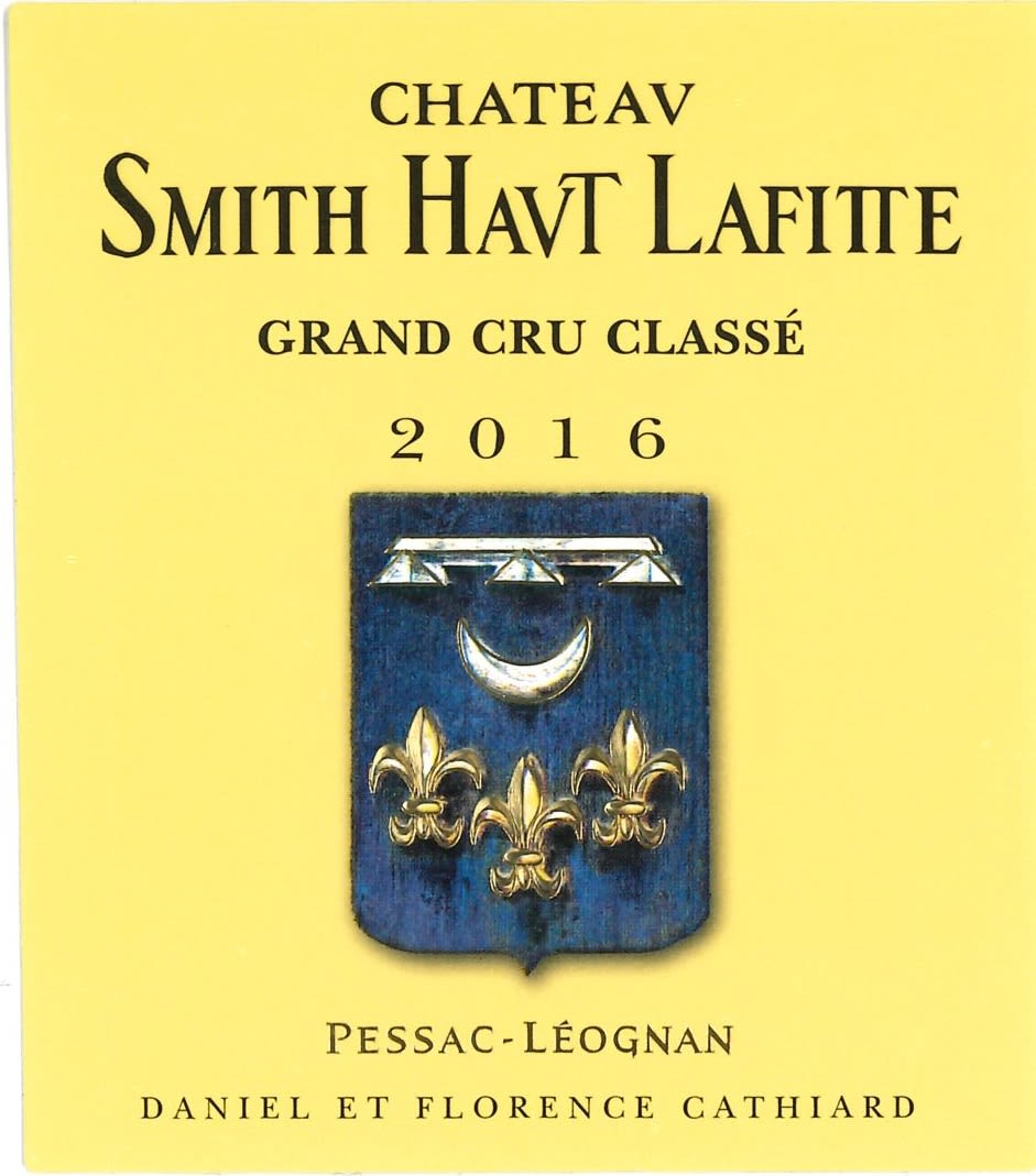 Chateau Smith Haut Lafitte  2016  Front Label