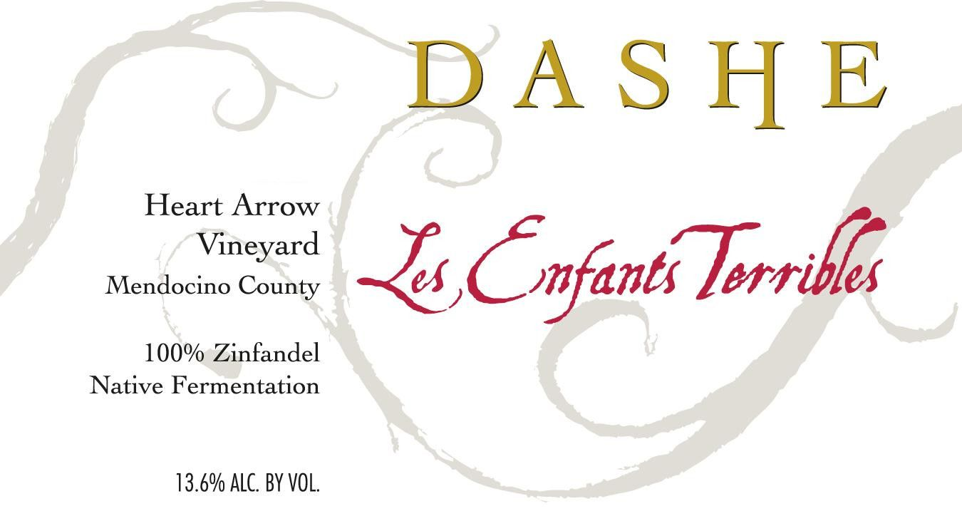 Dashe Heart Arrow Vineyard Les Enfants Terribles Zinfandel 2010  Front Label