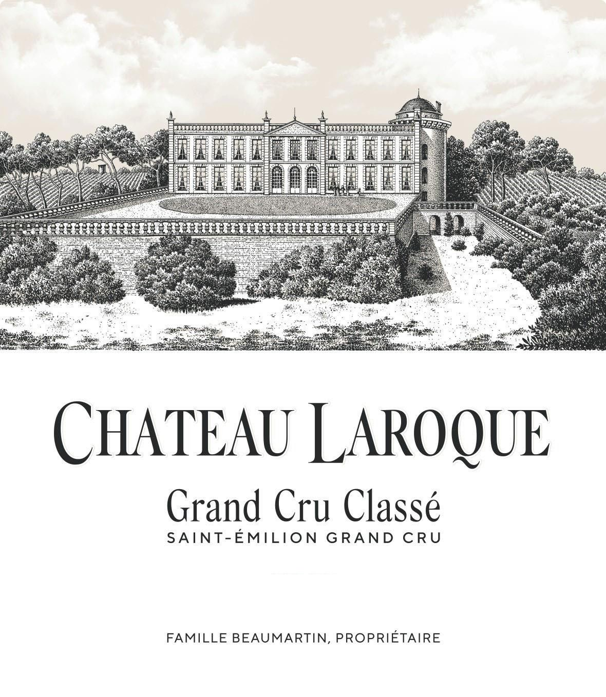 Chateau Laroque (Futures Pre-Sale) 2019  Front Label