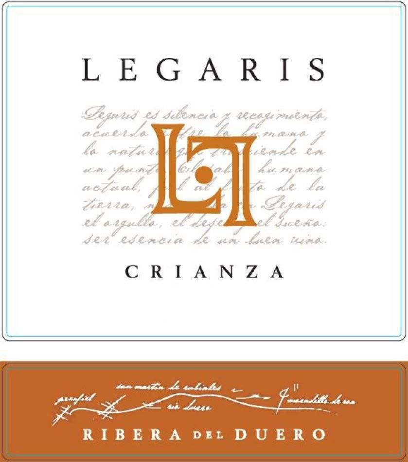Legaris Crianza 2016  Front Label