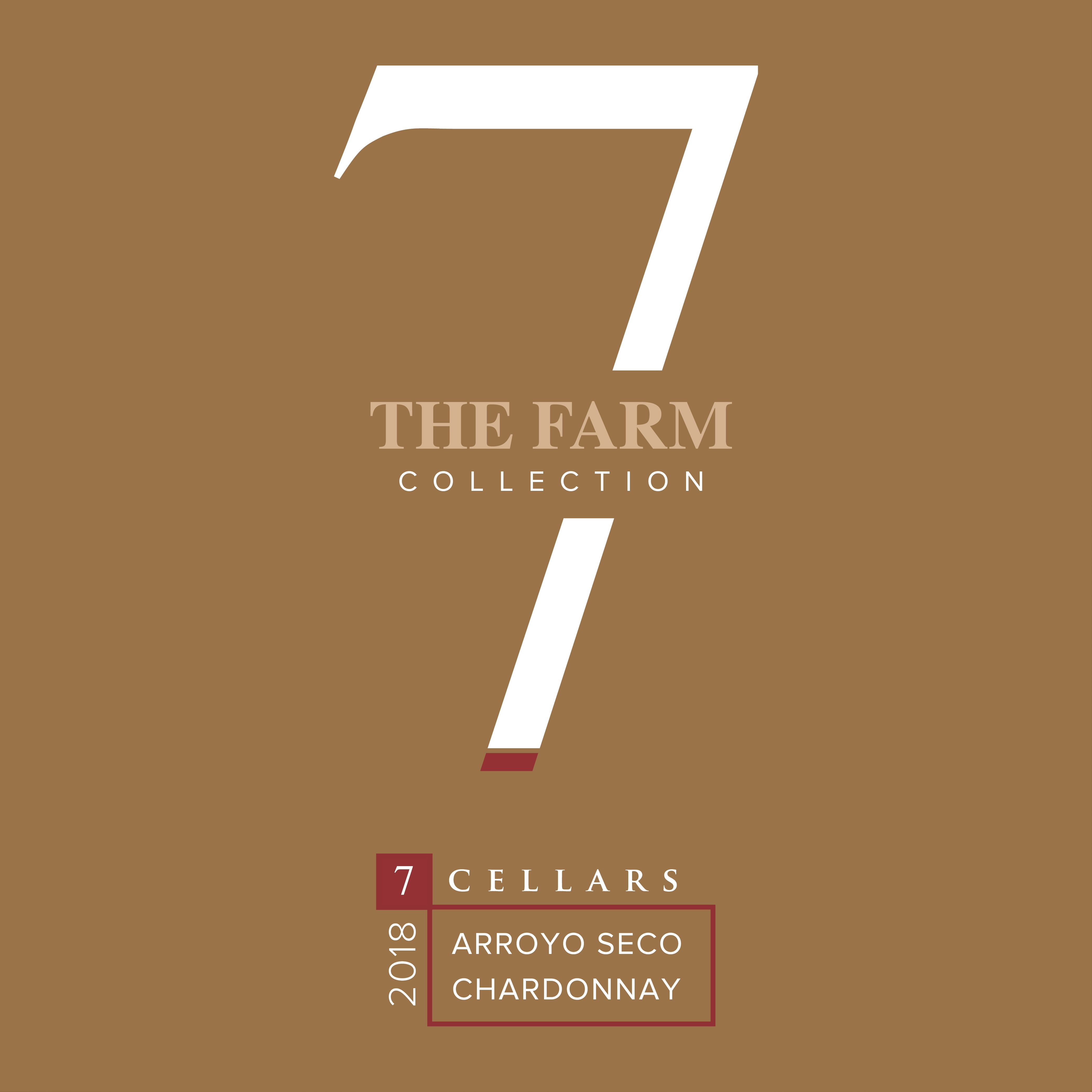 7Cellars The Farm Collection Chardonnay 2018  Front Label