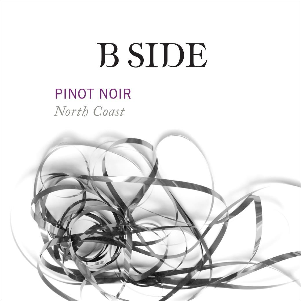 B Side North Coast Pinot Noir 2017 Front Label