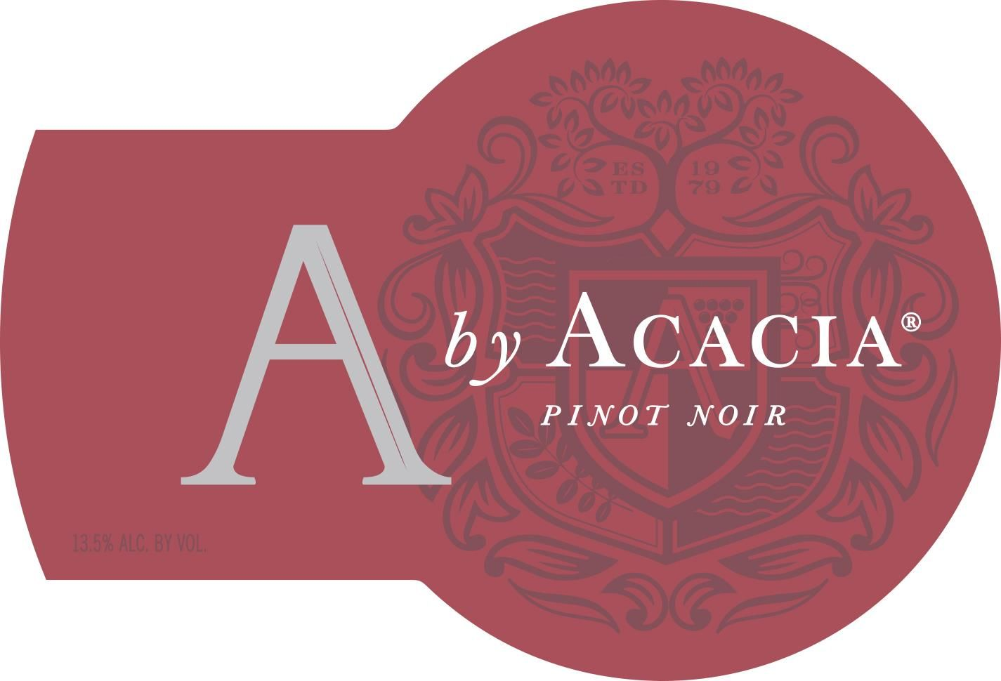 A by Acacia Pinot Noir 2018  Front Label