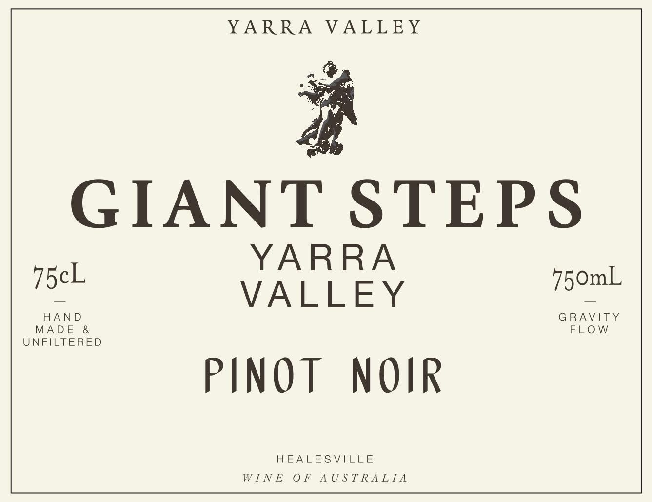 Giant Steps Yarra Valley Pinot Noir 2017 Front Label