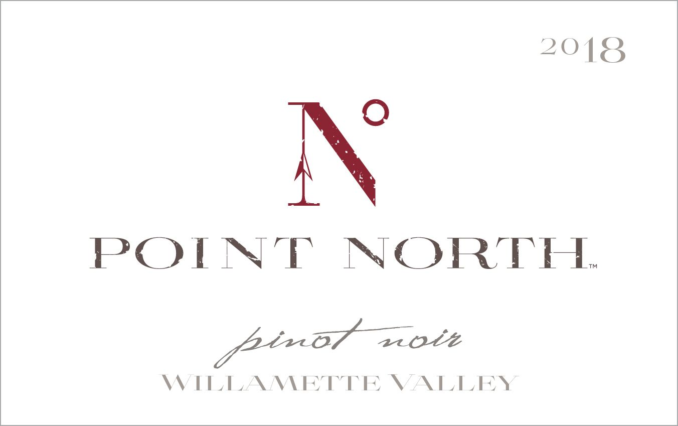 Sean Minor Point North Pinot Noir 2018  Front Label
