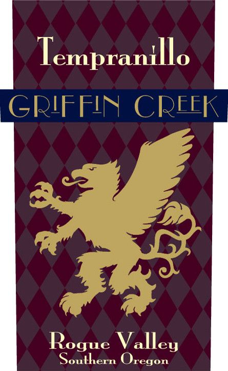 Willamette Valley Vineyards Griffin Creek Tempranillo 2013  Front Label