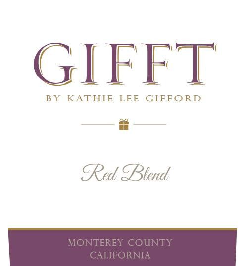 GIFFT by Kathie Lee Gifford Red Blend 2017  Front Label