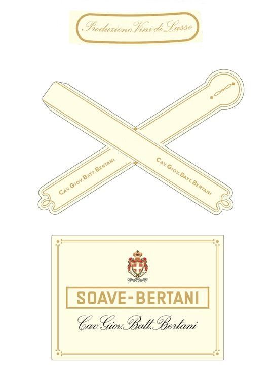 Bertani Vintage Edition Soave 2016  Front Label