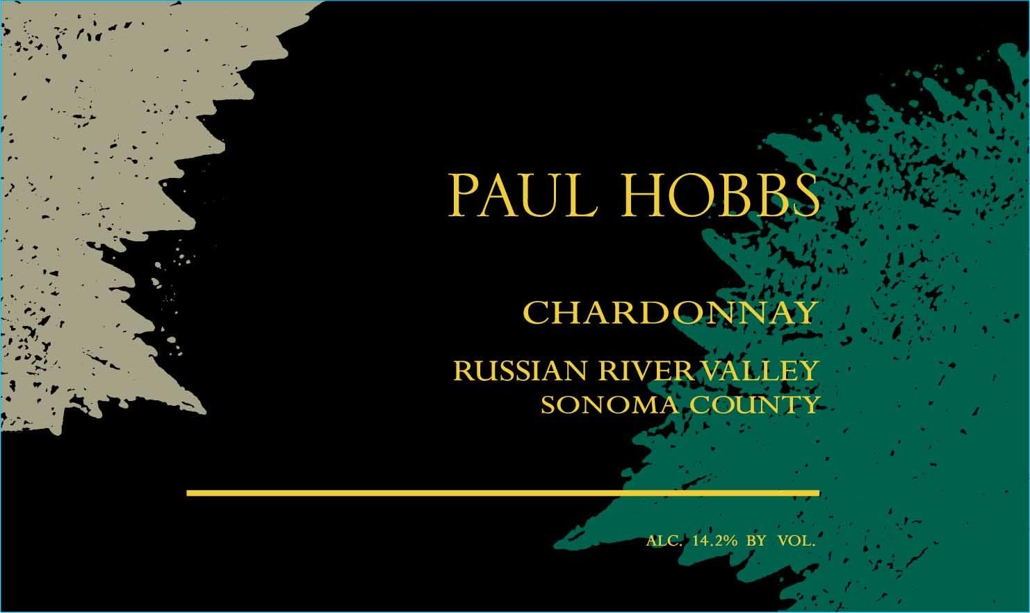 Paul Hobbs Russian River Chardonnay 2018  Front Label