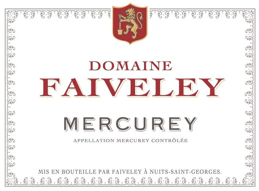 Domaine Faiveley Mercurey Rouge 2018  Front Label