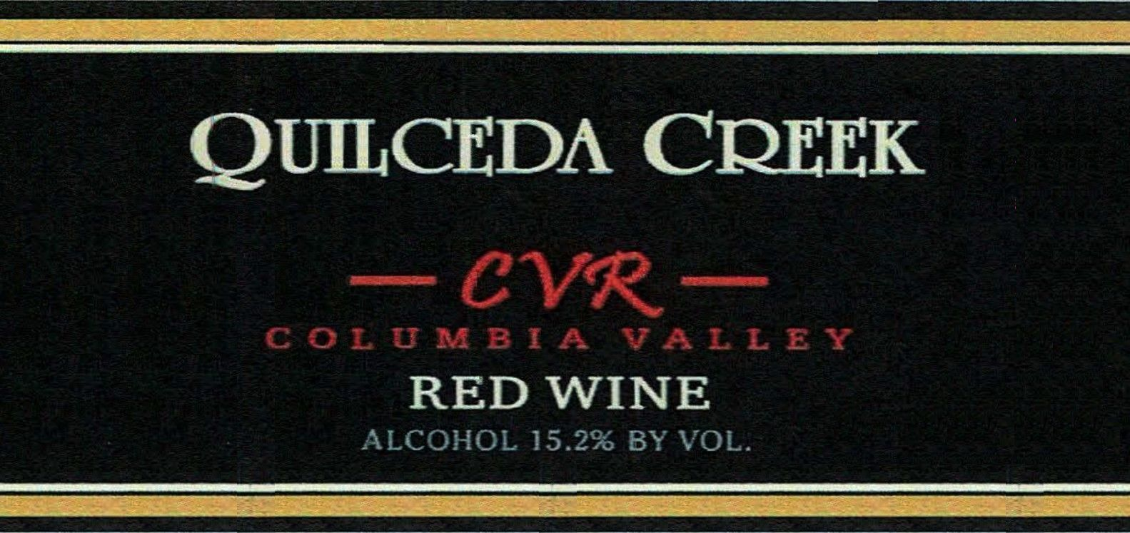 Quilceda Creek CVR Columbia Valley Red (1.5 Liter Magnum) 2016 Front Label