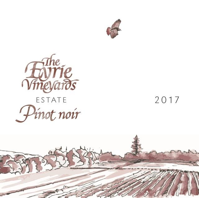 Eyrie Estate Pinot Noir 2017  Front Label