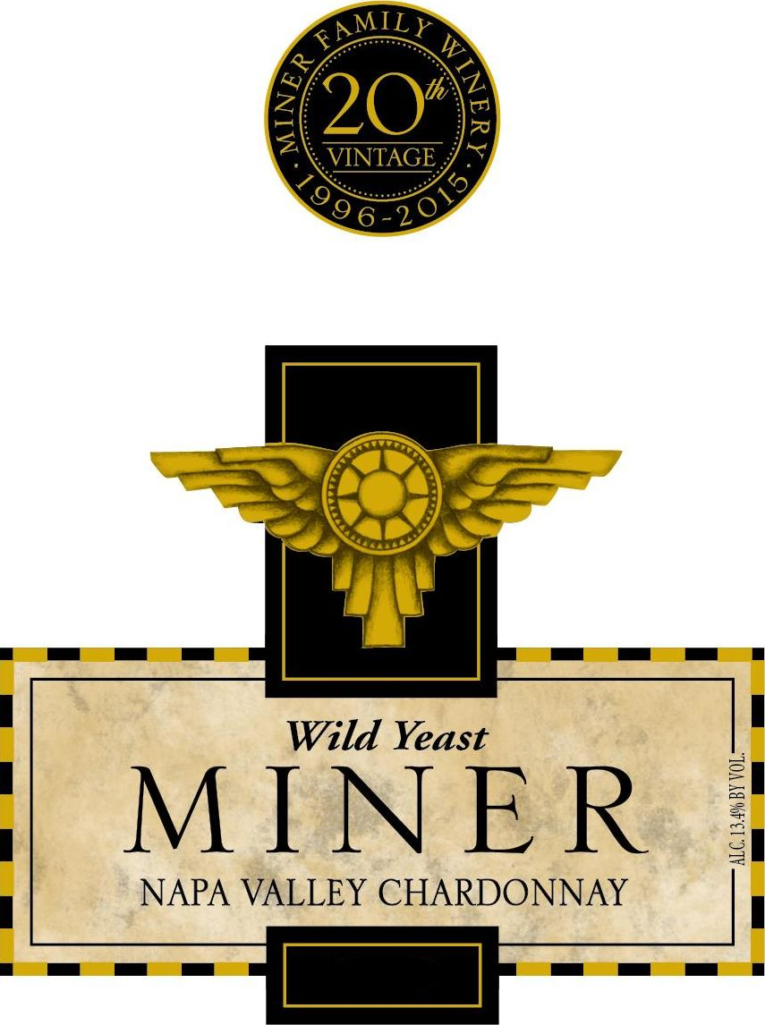Miner Family Wild Yeast Chardonnay 2017 Front Label