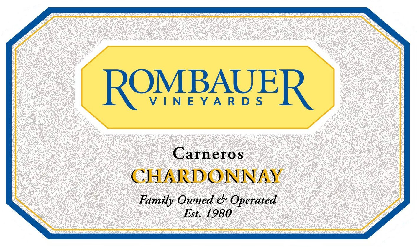 Rombauer Chardonnay 2019  Front Label
