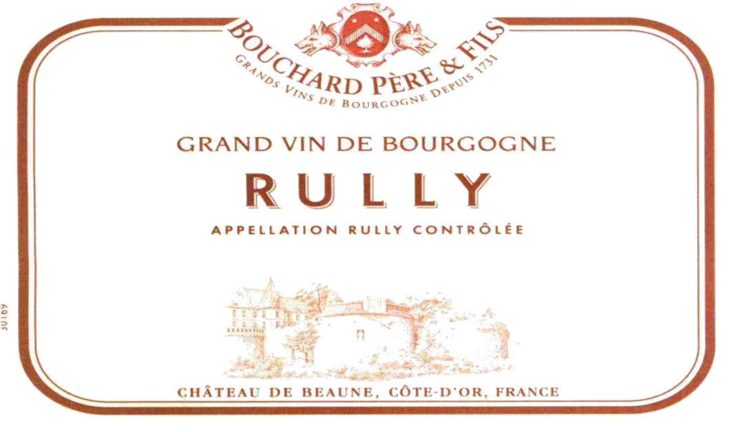 Bouchard Pere & Fils Rully Blanc 2007  Front Label