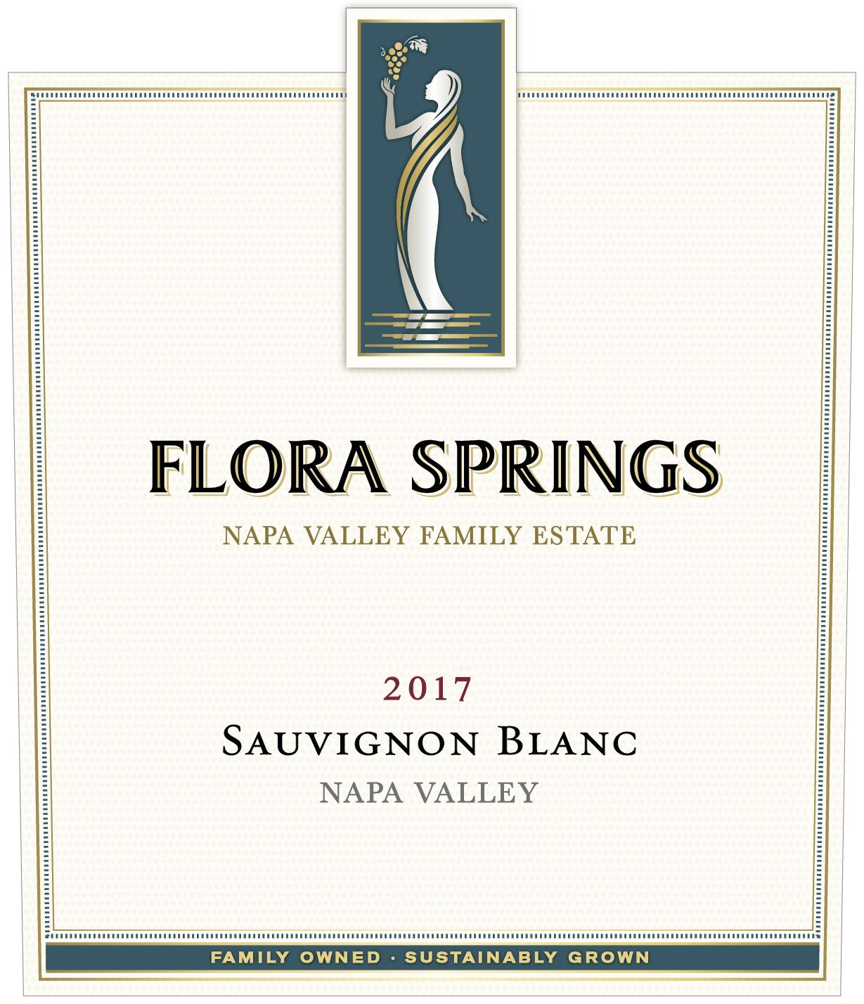 Flora Springs Napa Valley Sauvignon Blanc 2017  Front Label