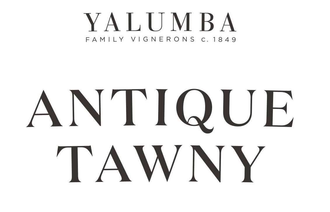 Yalumba Antique Tawny Port (375ML half-bottle)  Front Label