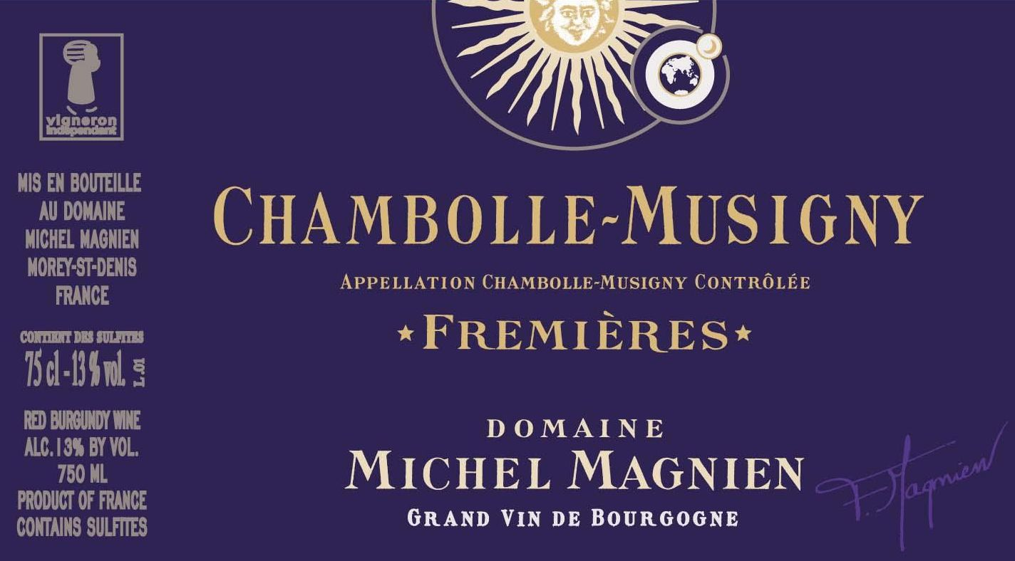 Michel Magnien Chambolle-Musigny les Fremieres 2017  Front Label