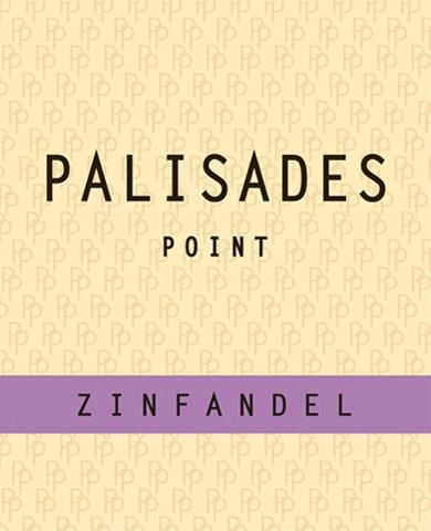 Palisades Point Zinfandel  Front Label