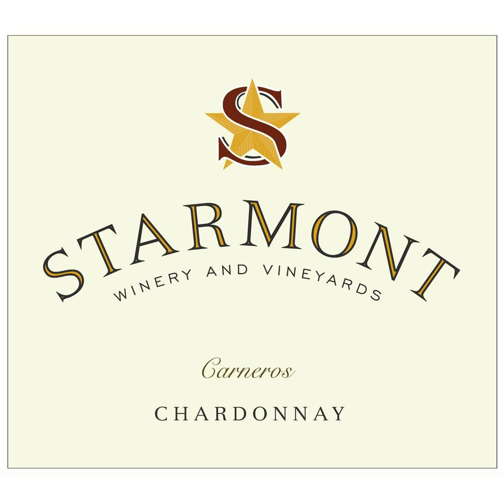 Starmont Chardonnay (375ML half-bottle) 2017  Front Label
