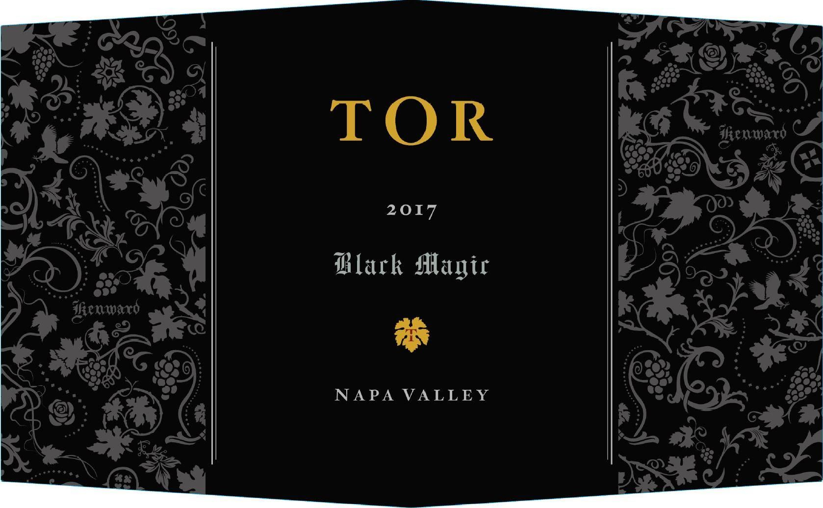 TOR Black Magic Cabernet Sauvignon 2017  Front Label