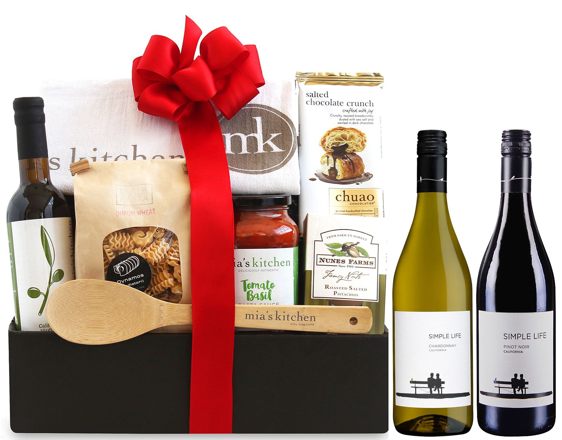 wine.com The Simple Life Italian Dinner Gift Basket  Gift Product Image