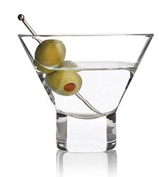 wine.com Raye Stemless Martini Glasses (Set of 2)  Gift Product Image