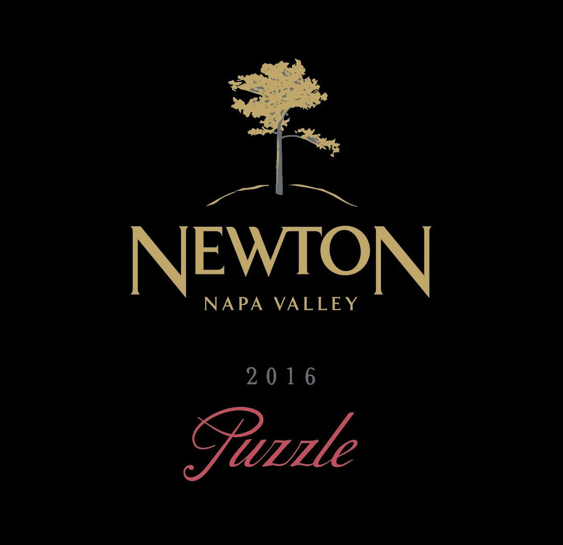 Newton The Puzzle 2016  Front Label
