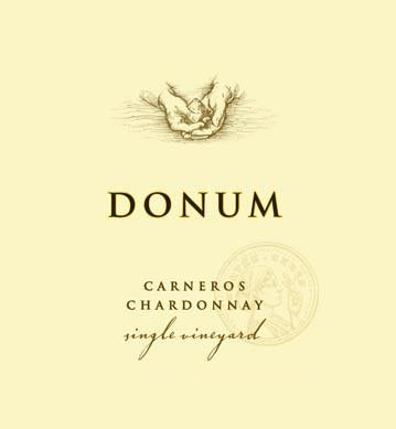 The Donum Estate Carneros Chardonnay 2016 Front Label
